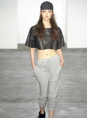 Alexander Wang Cropped Leather